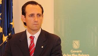 Bauzá deixarà la presidència del PP de les Illes Balears després de l'estiu