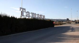 Un incendi crema tretze cotxes a l'empresa Tamayo de la Garriga