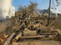Vés a: La Guàrdia Civil localitza un dipòsit il·legal de més de 6.000 quilos de plaques i canonades d'amiant