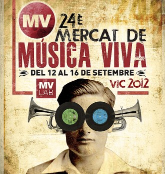 El cartell del MMVV, obra de Jordi Musquera