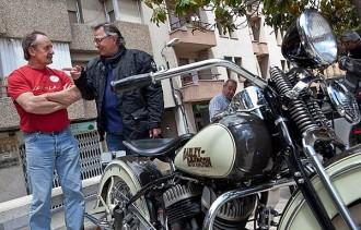 Les motos antigues es passegen pel Collsacabra