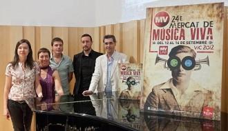 Mayte Martín aixecarà el teló del Mercat de Música Viva de Vic 2012