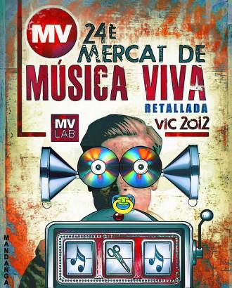 Cartell alternatiu del Mercat de Música Viva de Vic