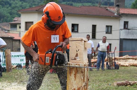 Vasile Chirila, el millor tallador de troncs