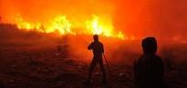 Vés a: Vídeos: el foc de l'Alt Empordà