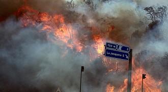 Un informe sobre el foc de l'Alt Empordà revela moments de «caos inicial»