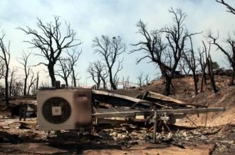 Un turista de Capmany, desallotjat pel foc: 'Estem vius, és important'