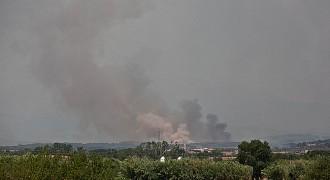 Comença el recompte de danys del gran incendi de l'Alt Empordà