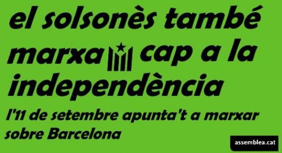 Autocars per assistir a la manifestació de l'11'S a Barcelona