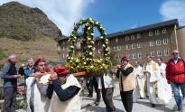 La Vall de Núria celebra Sant Gil amb sardanes i una cercavila