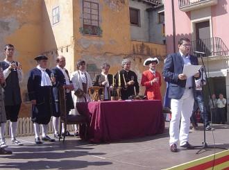 L'alcalde de Tona pronuncia un emotiu discurs patriòtic a la Diada Nacional