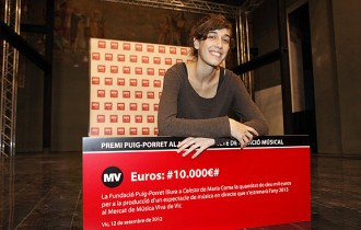 Maria Coma guanya un renovat premi Puig-Porret