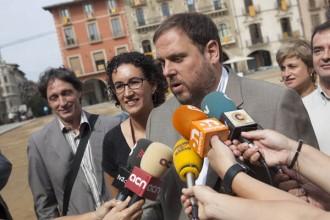 Oriol Junqueras compta amb Marta Rovira i Jordi Fàbrega pel 25N
