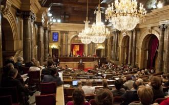 Amplíssima majoria sobiranista al Parlament