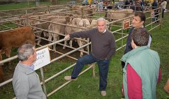 La Fira de l'Hostal del Vilar reuneix els pagesos i els ramaders del Lluçanès