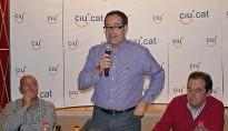 Pere Macias porta la campanya de CiU a Sant Boi de Lluçanès