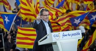 Artur Mas, a Vic: «No faré marxa enrere»