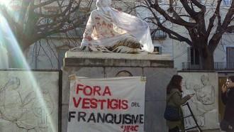Franco encara es passeja per Terrassa