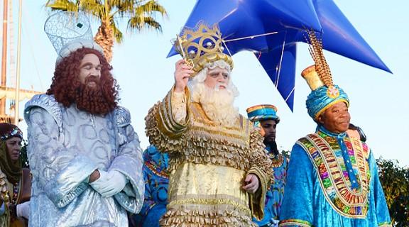 Els reis d'Orient arriben carregats de regals, il·lusió i carbó ...