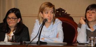 Neus Lloveras, alcaldessa de Vilanova i la Geltrú, primera presidenta de l'AMI