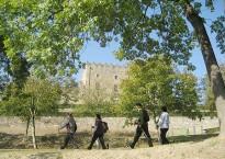 El Castell de Montesquiu proposa rutes de marxa nòrdica