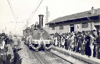L'arribada del ferrocarril a Terrassa