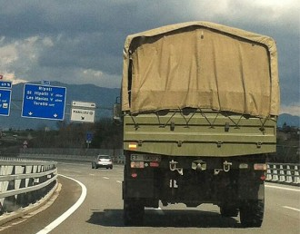 L'exèrcit espanyol a Osona... per terra, mar i aire
