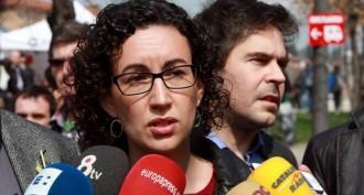 Marta Rovira respon des de Vic a la proposta de govern d'unitat de Mas
