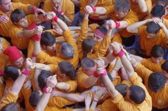 Els Sagals d'Osona descarreguen el primer 7de7 a la plaça Major de Vic