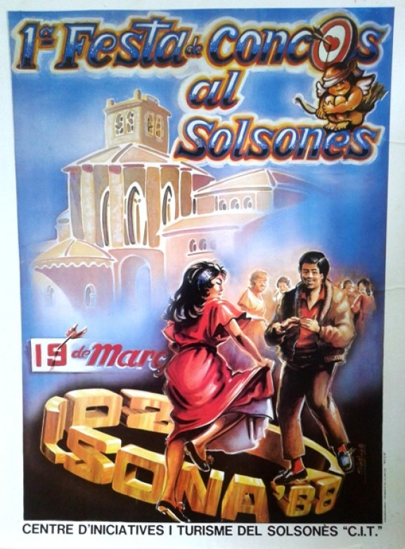 Fa 26 anys Solsona celebrava la primera Trobada de Concos