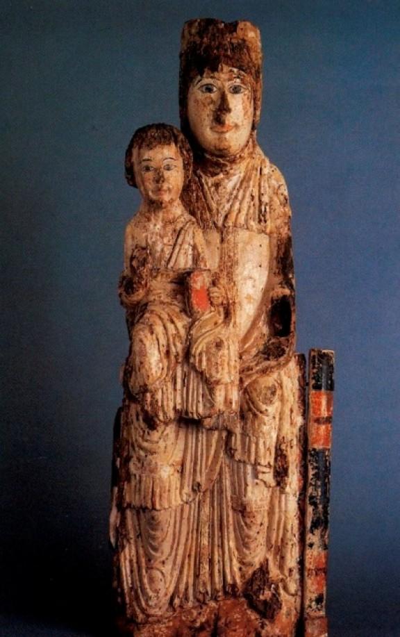 La Marededéu amb el Nen s'exposa al Museu Episcopal de Vic