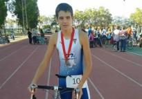 Daniel Ratera, 34è al Skoda Triathlon Series de Gavà