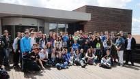 Vés a: Els estudiants visiten el Centre Tecnològic Forestal