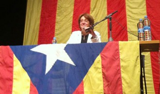 Patricia Gabancho presideix la presentació de l'ANC Seva-El Brull