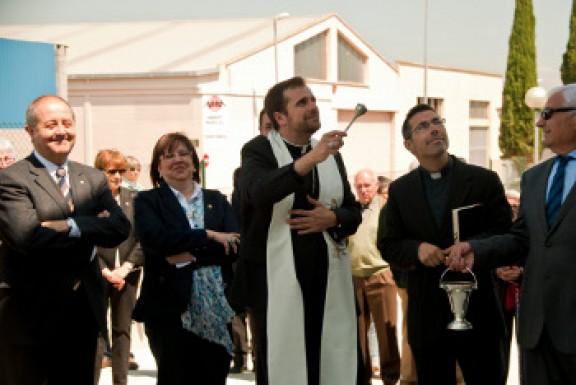 El bisbe Novell i el conseller Puig inauguren les instal·lacions de CARTAES empresa d'inserció social de Tàrrega