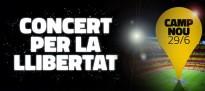Concert per la Llibertat al Camp Nou