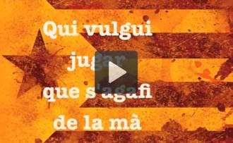 «La via», de Pepet i Marieta, banda sonora de la Via Catalana