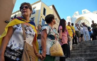 La Via Catalana fa una demostració de força al centre de Tarragona