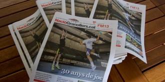 NacióGranollers fa una edició en paper per la Festa Major de Blancs i Blaus