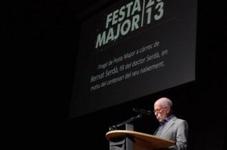 El pregó de Bernat Serdà obre la Festa major de Taradell