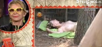 Un topless de la independentista Karmele Marchante excita Telecinco