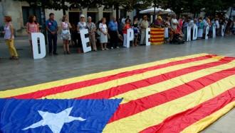 Granollers assaja la Via Catalana