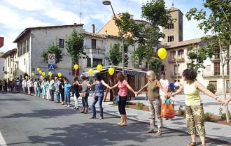 ERC, SI, CDC, Rcat i la CUP es bolquen a Osona a favor de la Via Catalana