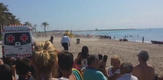 Un home de 35 anys mor ofegat a la platja de l'Estany-Mas Mel de Calafell