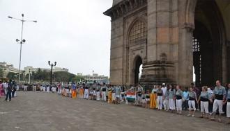 Els Castellers de Sants duen la Via Catalana a l'Índia