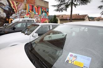 Olot estrena zona verda d'aparcament