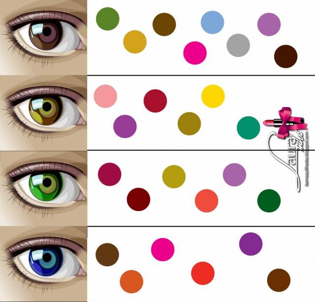 Quins colors queden b segons els teus ulls for Sombras de ojos para ojos marrones