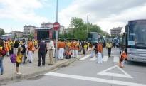 Més de la meitat dels autobusos d'Osona per la Via Lliure ja estan plens