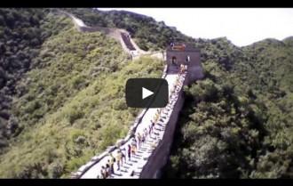 Vídeo: la Via Catalana a Xina, vista des del cel