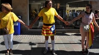 Uns 30 autocars de Terrassa, cap a la Via Catalana